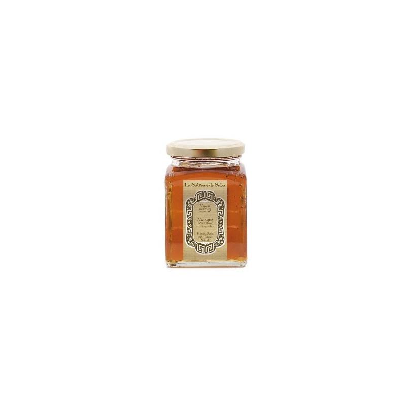 Masque au miel à la rose et au gingembre