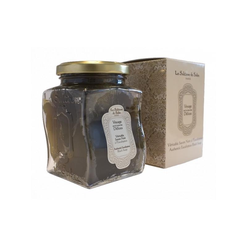 Le véritable savon noir à l'eucalyptus - La Sultane de Saba