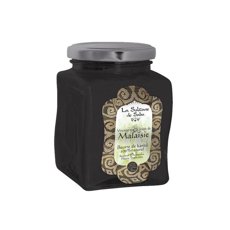 Beurre de karité Champaka et Fleurs Tropicales - La Sultane de Saba