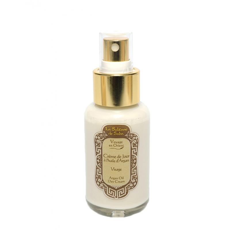 Crème visage à l'Argan - Fleur d'oranger - La Sultane de Saba
