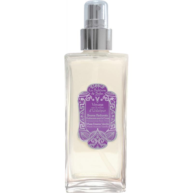 Brume hydratante parfumée corps Udaïpur