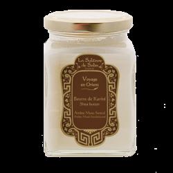 Beurre de Karité Ambre, Musc et Santal - La Sultane de Saba