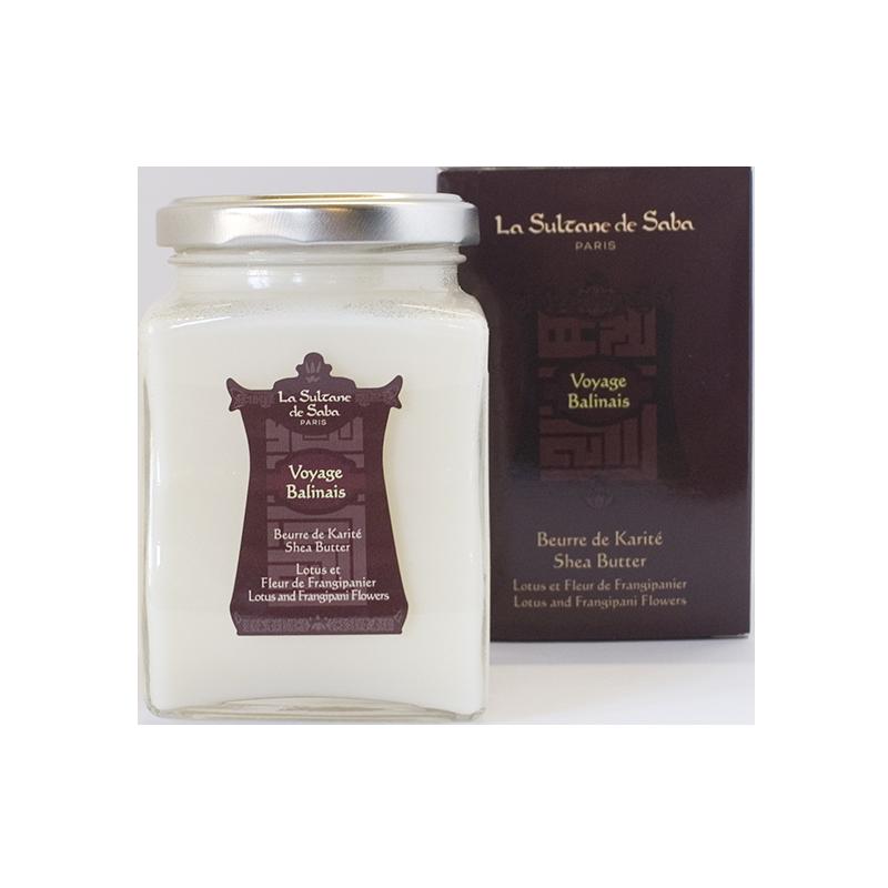 Beurre de Karité Lotus et Fleur de Frangipanier - La Sultane de Saba