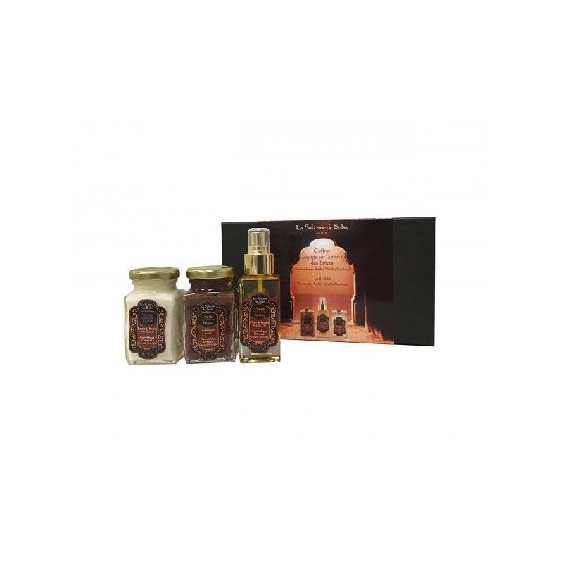 Coffret massage ayurvédique oriental - La Sultane de Saba